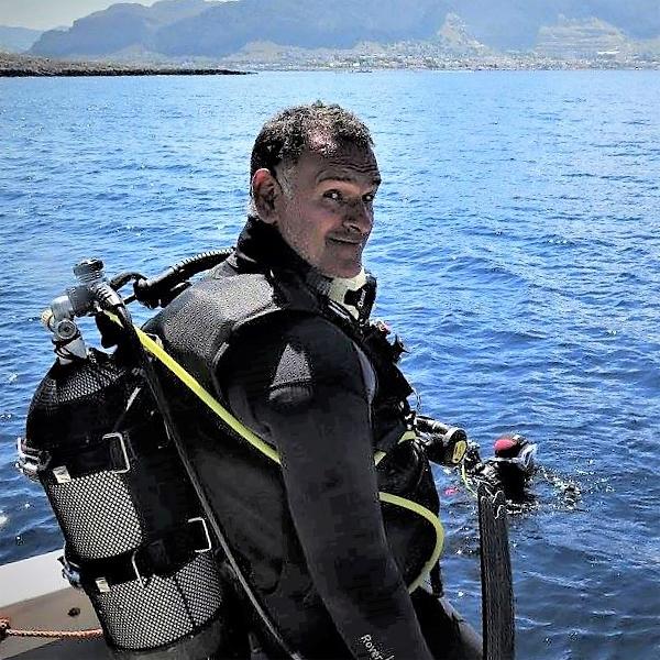 Antonio, Instructor & Guida sulla Linosa Sunshine Dive Boat, a Palermo