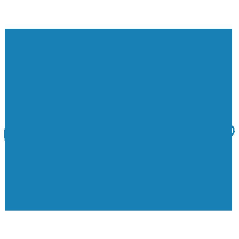 Blue Scuba Diver Icon