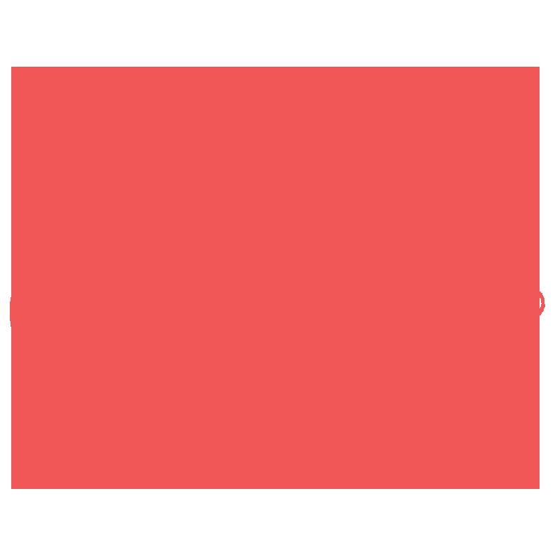 Red Scuba Diver Icon