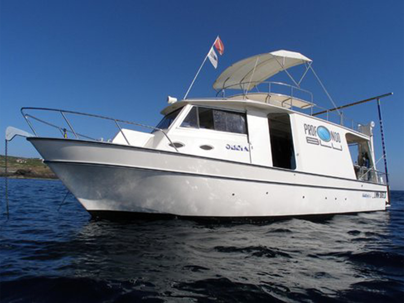Profondo Blu Diving Boat