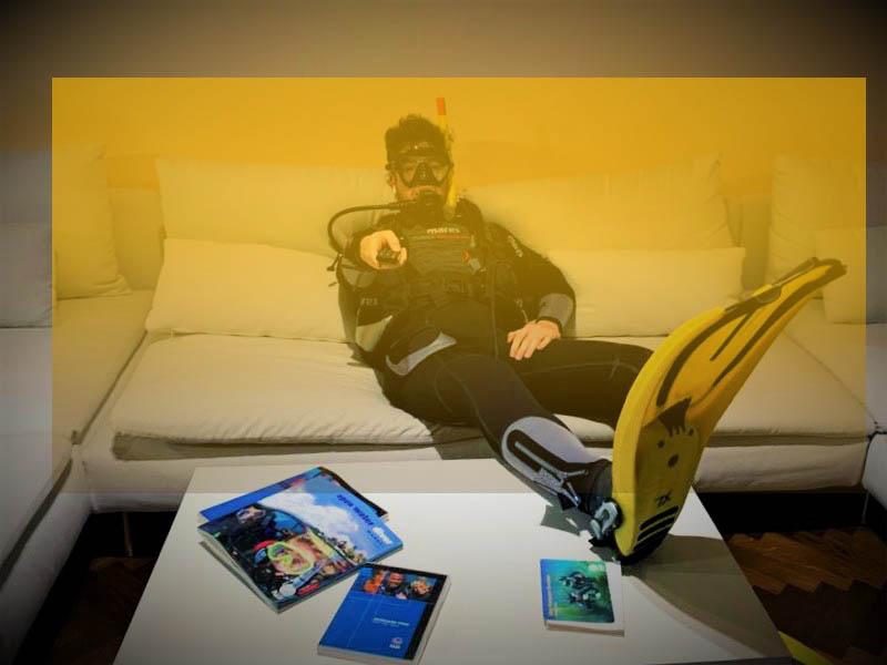 DIVING IN LOCKDOWN - Corsi Online